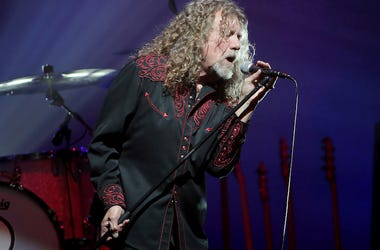 Robert Plant, Singing, Concert, Murat Theatre, 2015