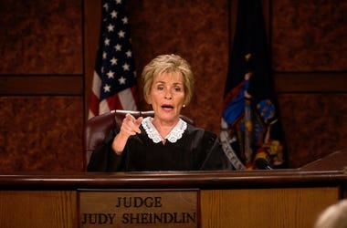 judge judy, judy sheindlin, haircut, millionare, tv