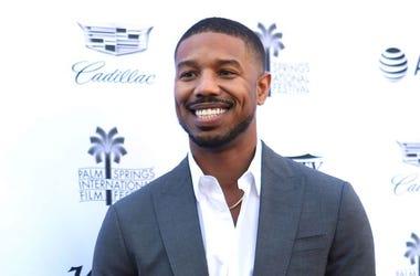 Michael B. Jordan, Red Carpet, Creative Impact Awards, Smile, 2019