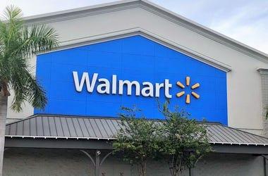 Walmart, Sign, Storefront, Florida