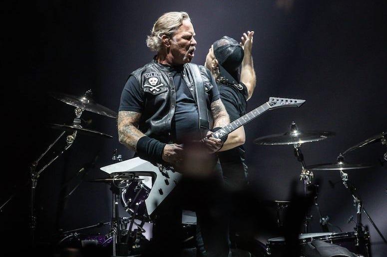 James Hetfield, Lars Ulrich, Metallica, Concert, WorldWired Tour, 2019