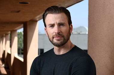 Chris Evans, Portait, Posing, CBS Studio, Beard, 2017