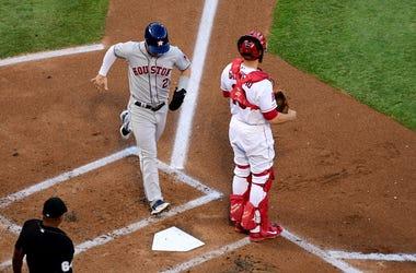 Houston Astros third baseman Alex Bregman