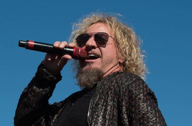 Sammy Hagar, Van Halen, Singing, Outdoors, Sunglasses, Texas Motor Speedway, 2015
