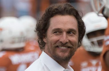 Matthew McConaughey, Texas Longhorns, Football, Smile, 2016