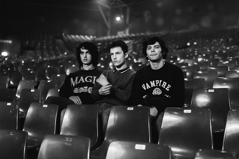 WALLOWS IS PERFORMING LIVE AT THE ROXY.  HEAD OVER TO ALT1037DFW.com FOR YOUR CHANCE TO WIN YOUR WAY INTO THE LIVE STREAM ON SEPTEMBER 13TH, ENTRY INTO A PRE-SHOW VIRTUAL MEET & GREET WITH THE BAND AND A WALLOWS CONCERT MERCH BAG!