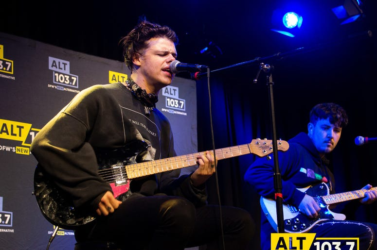 Yungblud Live In The Verizon Artist Lounge (