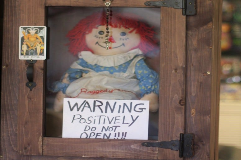 The 'Annabelle' haunted doll
