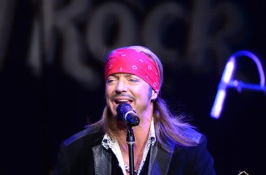 Singer Bret Michaels
