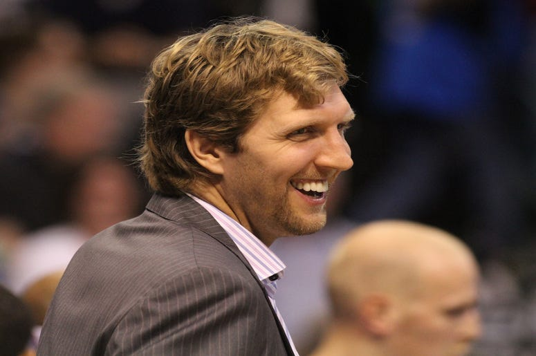 Retired NBA Dallas Maverick Player, Dirk Nowitzki