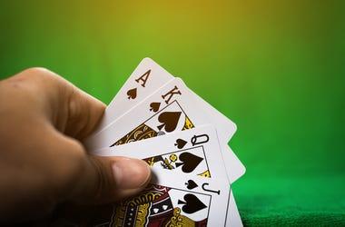 Gambling, Playing Cards, Poker Table