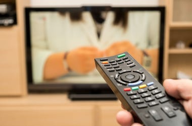 Remote, Television, TV, Watching TV