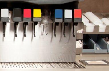 Soda, Coke, Fountain, Machine, Restaurant