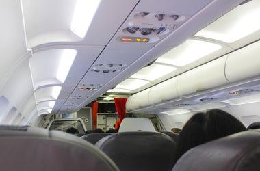 Airplane, Interior, Vent, Air Conditioning