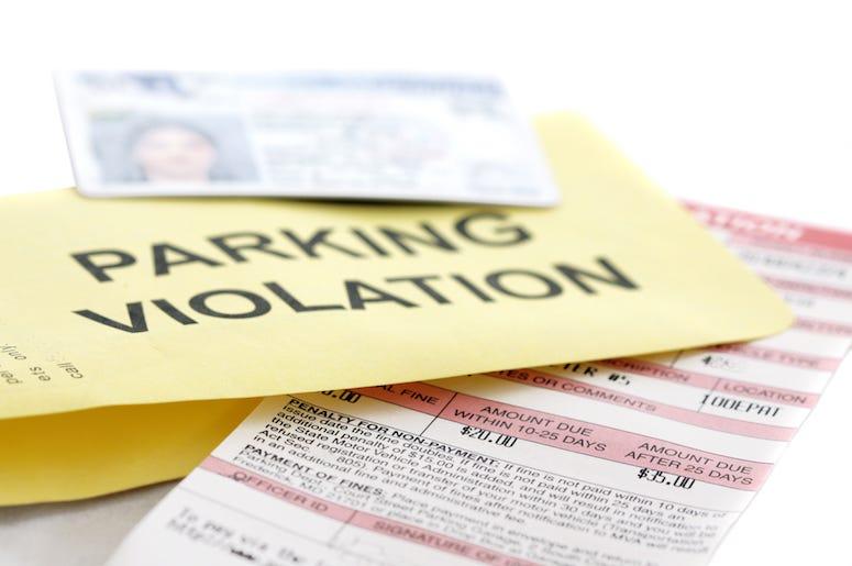 Parking Violation, Ticket