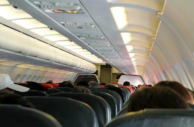 Airplane, Cabin, Passengers, Flight