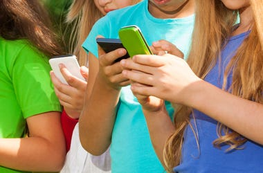 Kids, Texting, Cell Phones