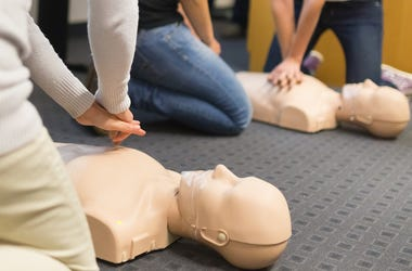 CPR, Breathing, Training