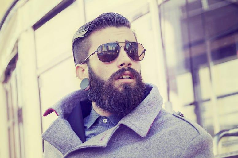 Man, Beard, Hipster