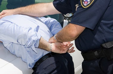 Police, Criminal, Arrest, Handcuffs, Squad Car