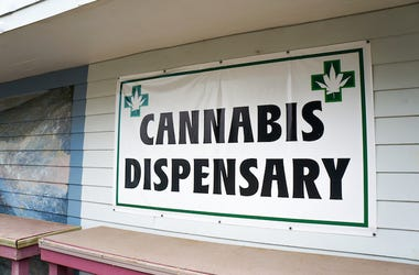 Cannabis, Marijuana, Dispensary, Storefront, Sign
