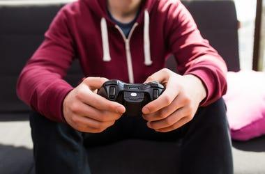 Boy, Video Game, Controller