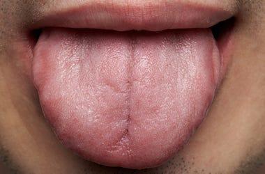 Man, Tongue