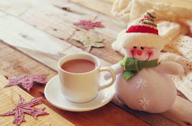 Hot Cocoa and a Snowman