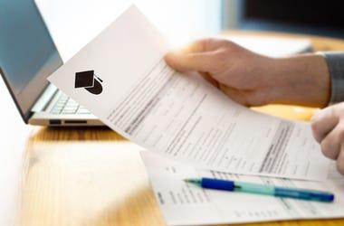 College, University, Acceptance Letter, Student, Hands