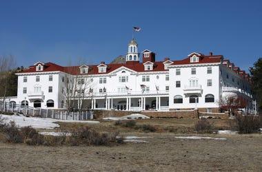 Stanley Hotel, Overlook Hotel, Estes Park, Colorado, The Shining