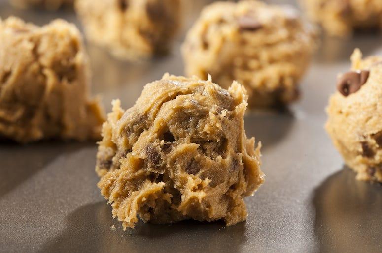 Raw, Cookie Dough, Chocolate Chip