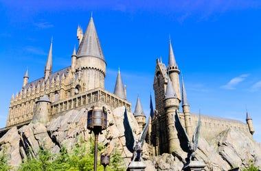 Hogwarts, Harry Potter, Castle, School