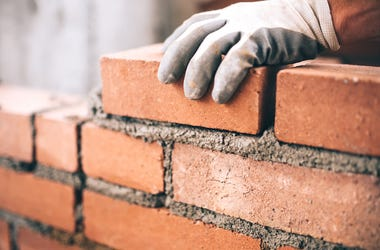Bricklayer, Construction, Wall, Brick, Cement