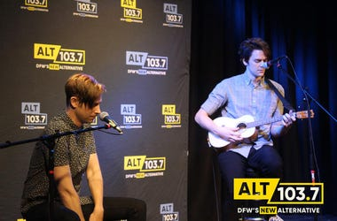 idkHow performs in the Verizon Artist Lounge at ALT 103.7