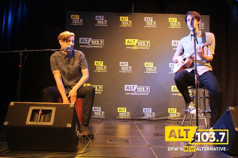 iDKHOW Live At The Verizon Artist Lounge At ALT 103.7 Studios