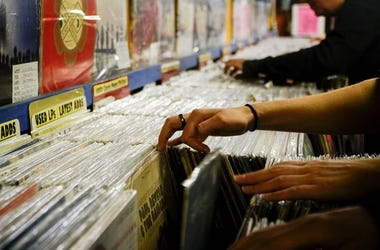 Navigating through stacks of records