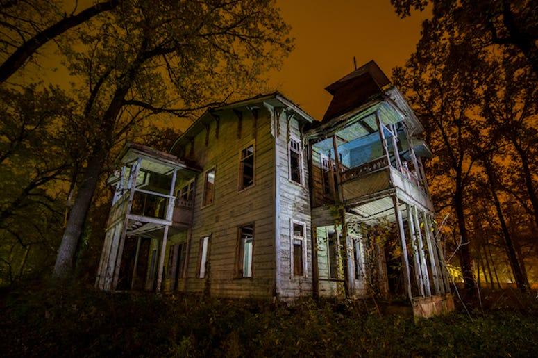 Abandoned, Haunted, Creepy, Mansion