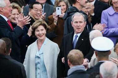 George W. & Laura Bush