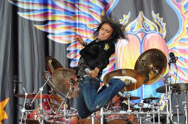Journey, Arnel Pineda, Jumping, Concert, Download Festival, 2009