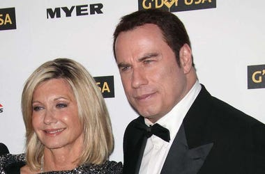 Olivia Newton-John, John Travolta, Red Carpet, G'day USA Gala, 2010