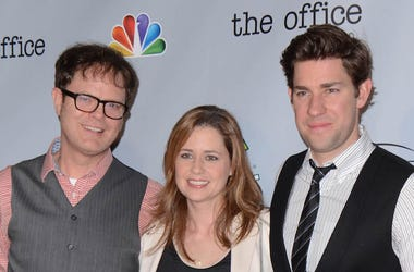 Rainn Wilson, Jenna Fischer, John Krasinski, The Office, Series Finale, Red Carpet, 2013