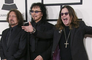 Black Sabbath, Grammys, Red Carpet, Geezer Butler, Tony Iommi, Ozzy Osbourne