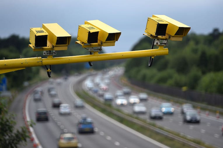 Speeding, Speed Camera, Highway, Cars, Driving,
