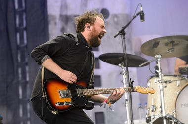 Frightened Rabbit, Scott Hutchison, Concert, Guitar