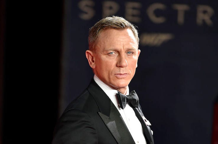 Daniel Craig, Red Carpet, James Bond, Spectre, Premiere, Tuxedo, 2015