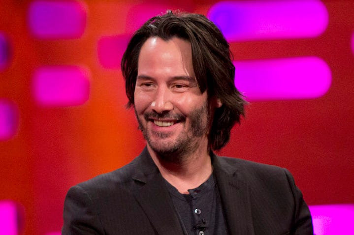 Download Keanu Reeves Smiling JPG