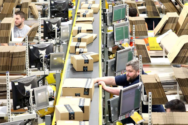 Amazon, Warehouse, Packages