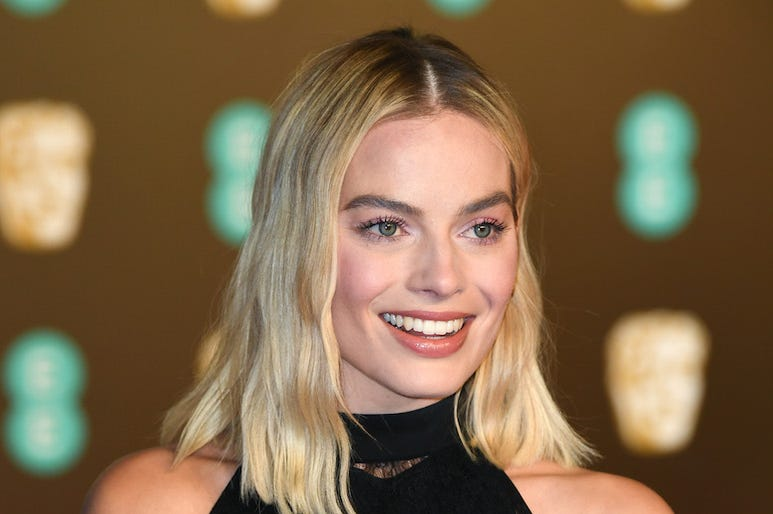 Margot Robbie, Smile, Red Carpet