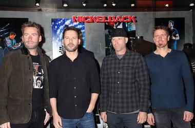 Nickelback, Memorabilia Case, Hard Rock Hotel & Casino, Las Vegas, 2018