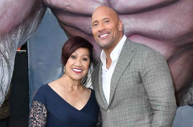 Dwayne Johnson, Ata Johnson, Rampage, Premiere, Red Carpet, 2018